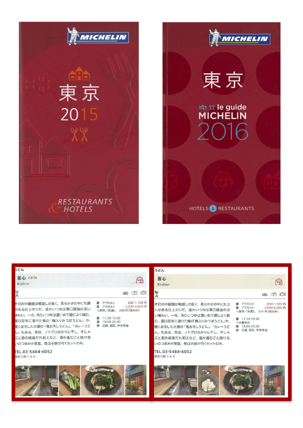 Guide MICHELIN Restaurants